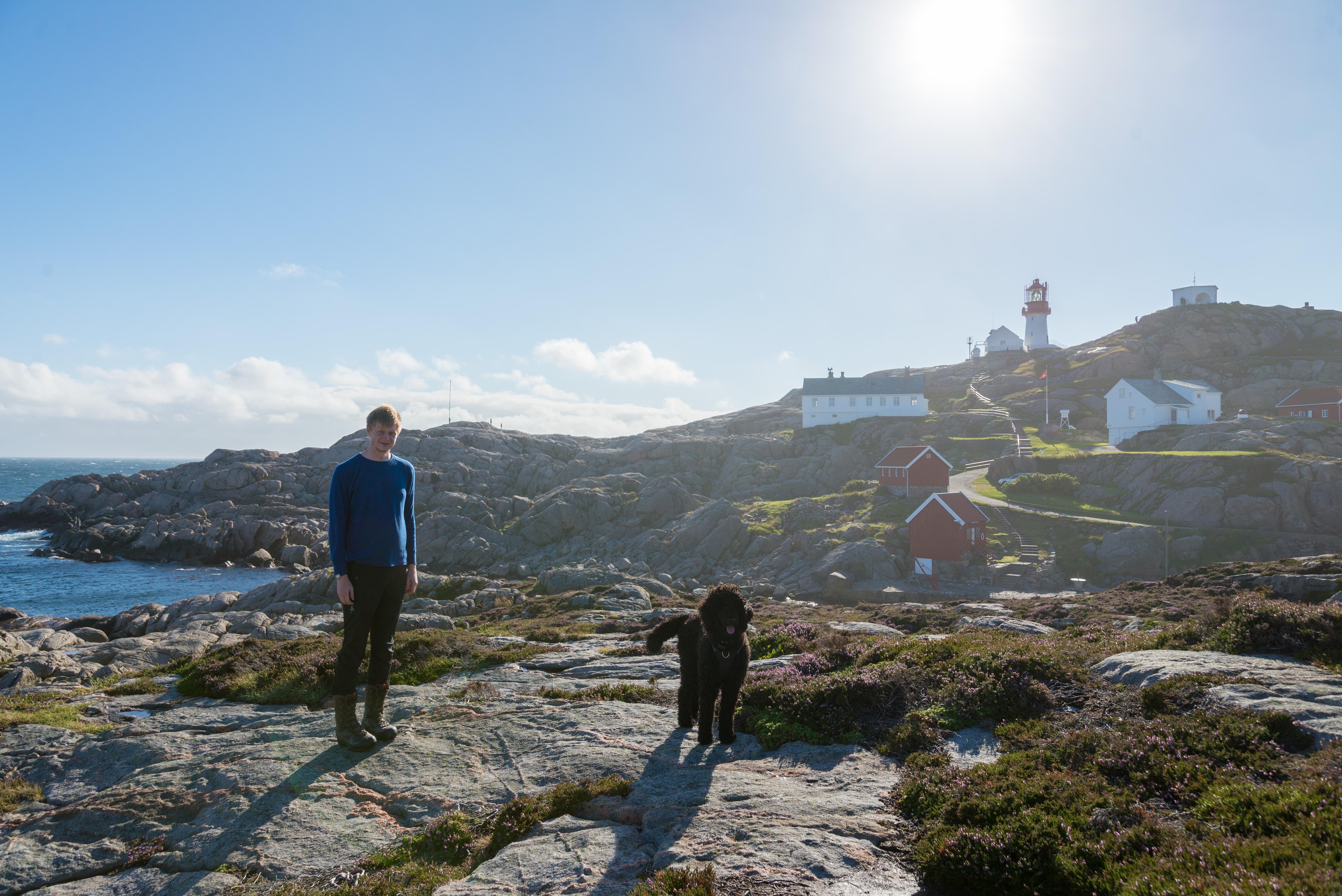 Starten på Norge på langs turen del 1 Lindesnes – Eirik