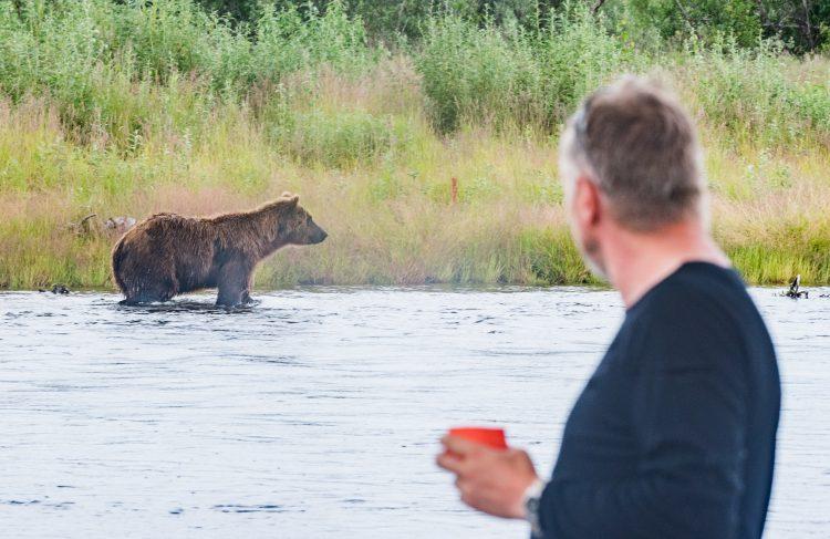Sommerferien 2015 – American creek Katmai Alaska 27 juli 2015