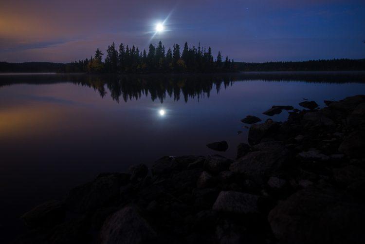 Høstferien 2015 – Måneformørkelse ved Katnosa. 27-28 september 2015