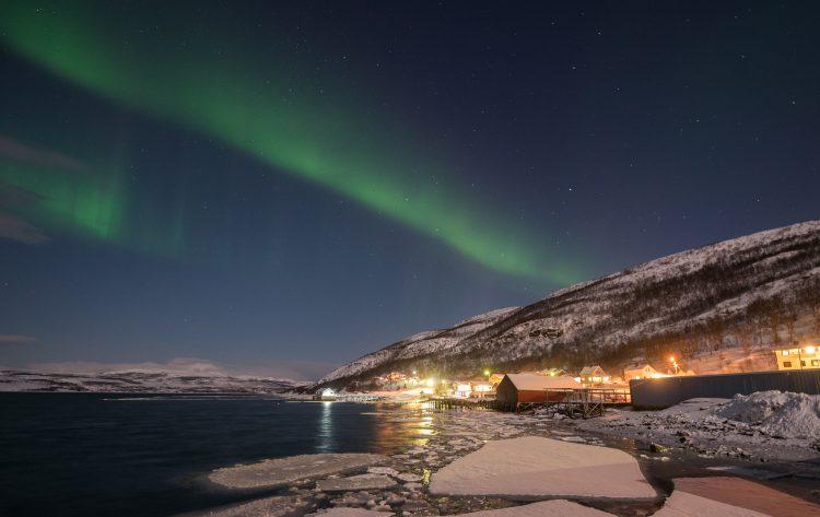 Nordlys i Smalfjord – 20, mars 2016