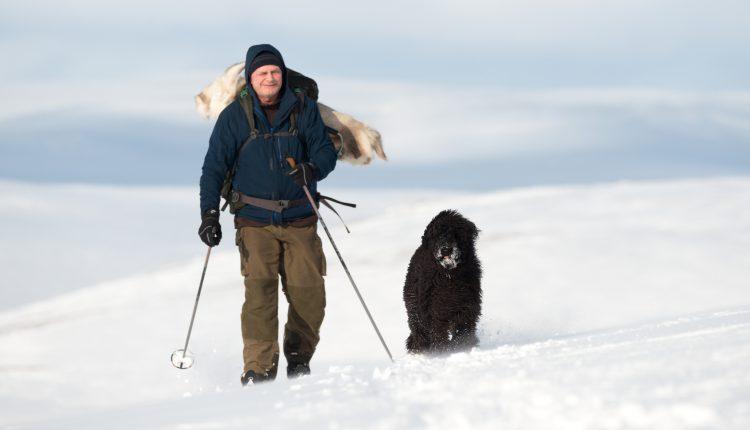 Skitur til Mielkejavri på Ifjordfjellet – 23, mars 2016