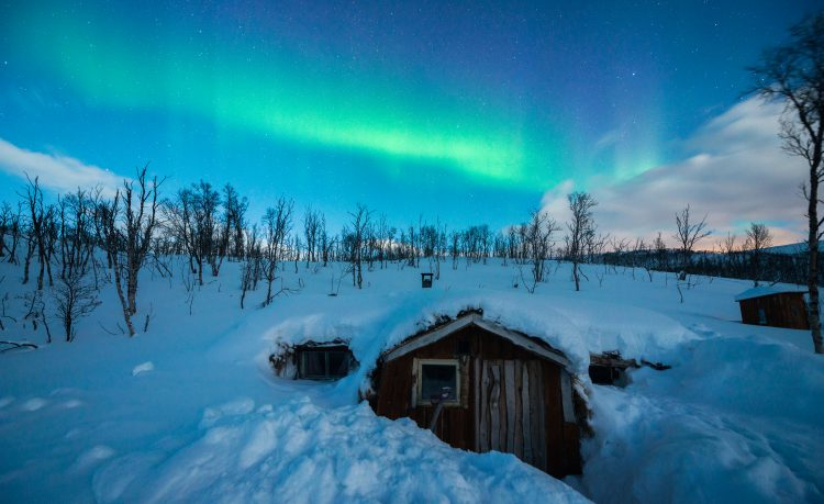 Gamma til Sverre ved Tennevann – 24-25, mars, 2016