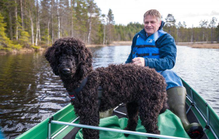 Frøyas første kanotur – 5, mai 2016