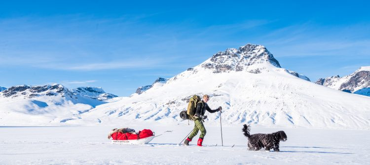 Norge på langs Tyin-Gudbrandsdalen varierende skiføre del 8