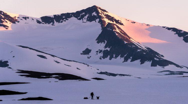 Skitur i juni med pulk i Børgefjell – Norge på langs del 13