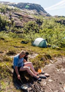 Varm dag i Nordland