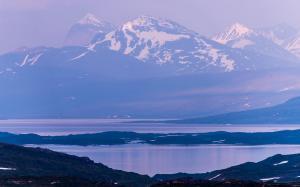 Sarekfjellene tatt fra Norge