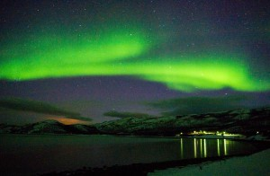 Nordlys over Ifjord