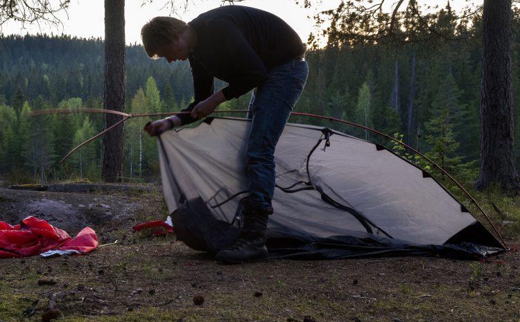 Nå har jeg kjøpt nytt telt – 10-11, mai 2016