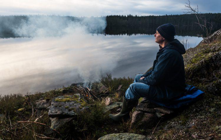 Tisjøen på Minneåsen 8 november 2015