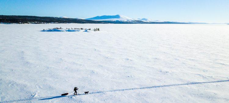Turer mellom Norge på langs turen og før påsken 2018. Drone, mye snø og mars-kulde.