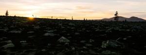Solnedgang over Femundsmarka